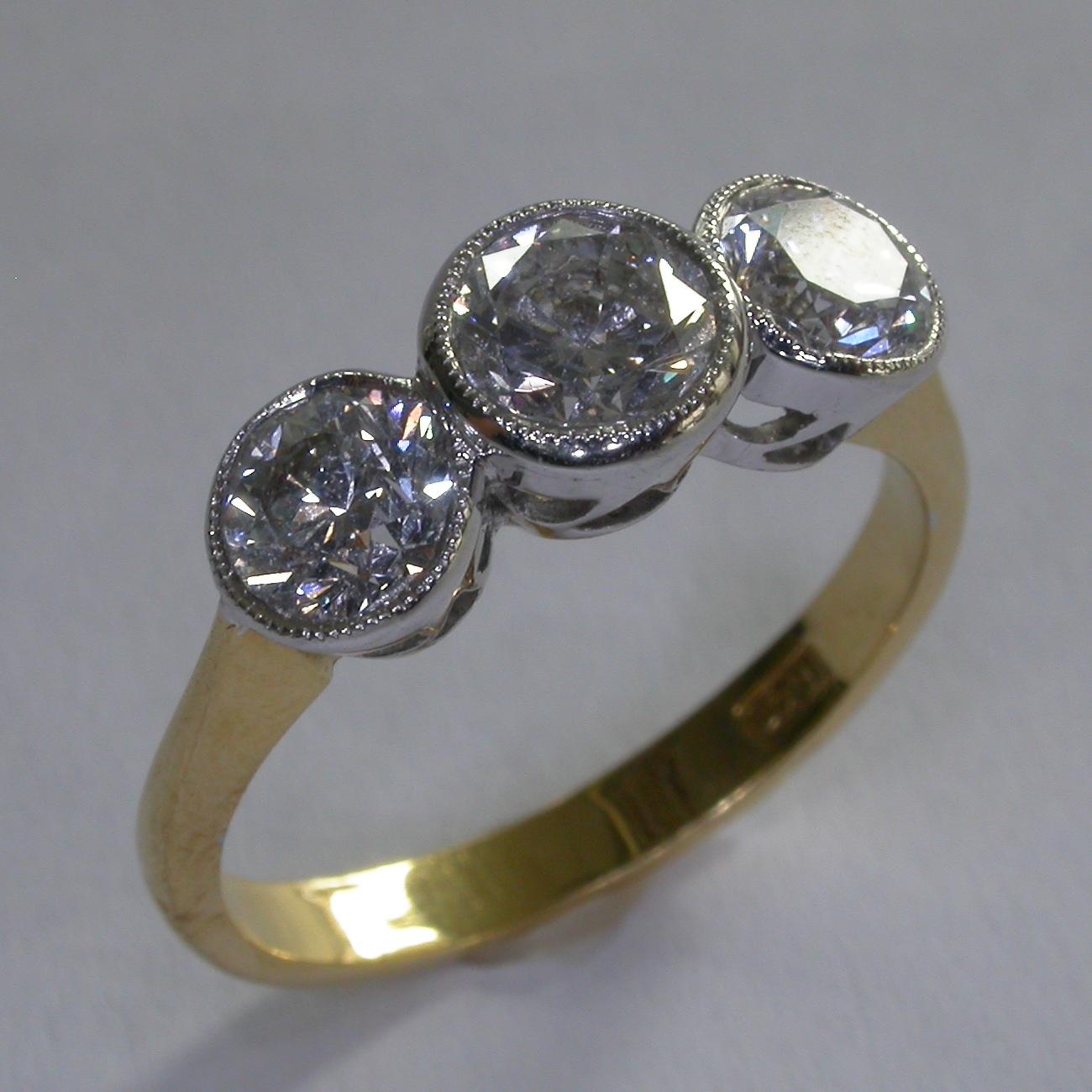Diamond Engagement Ring - #3864