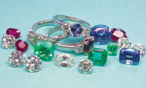 Gemstones - Burmese Ruby, Columbian Emeralds & Ceylon Sapphires