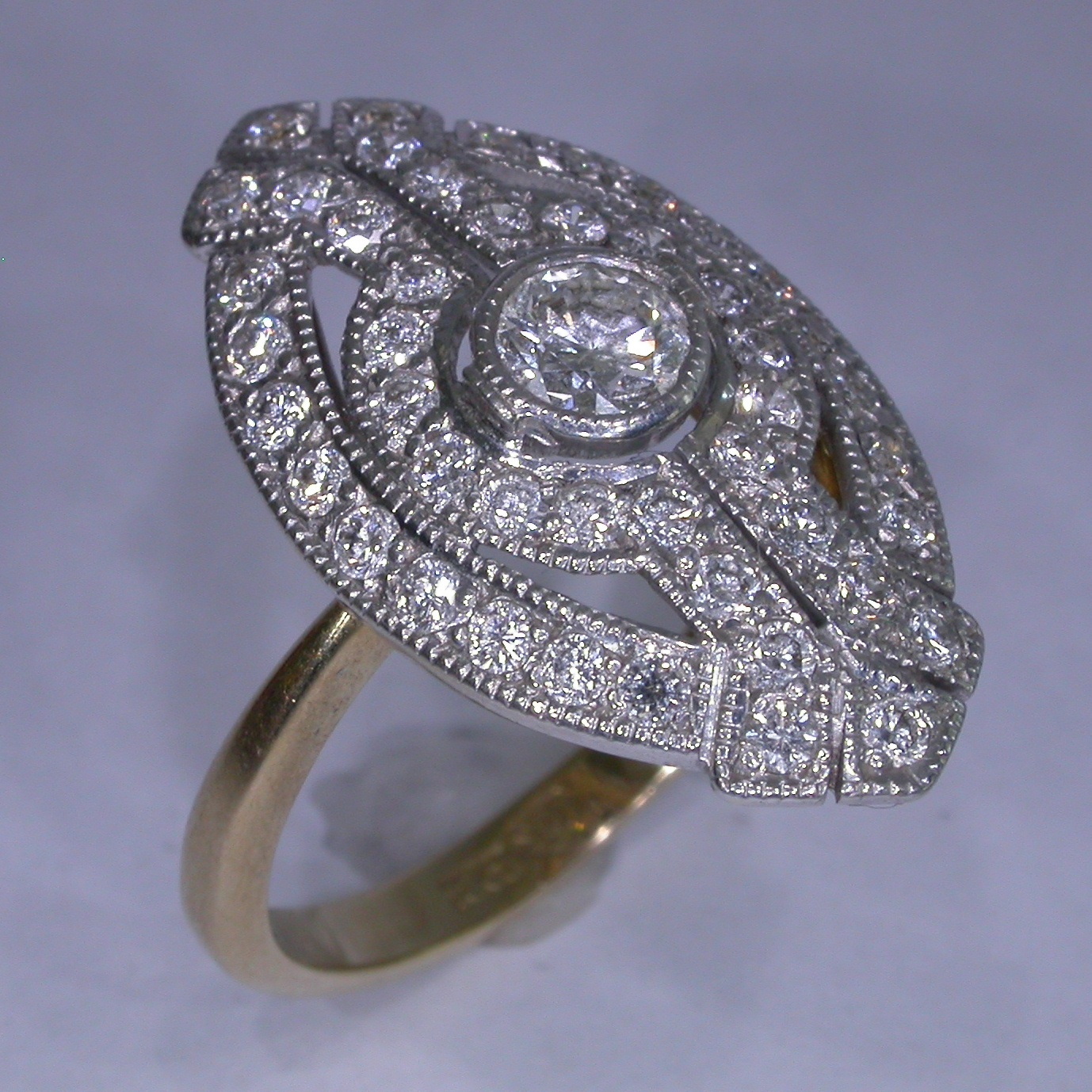 Diamond Engagement Ring - #6859