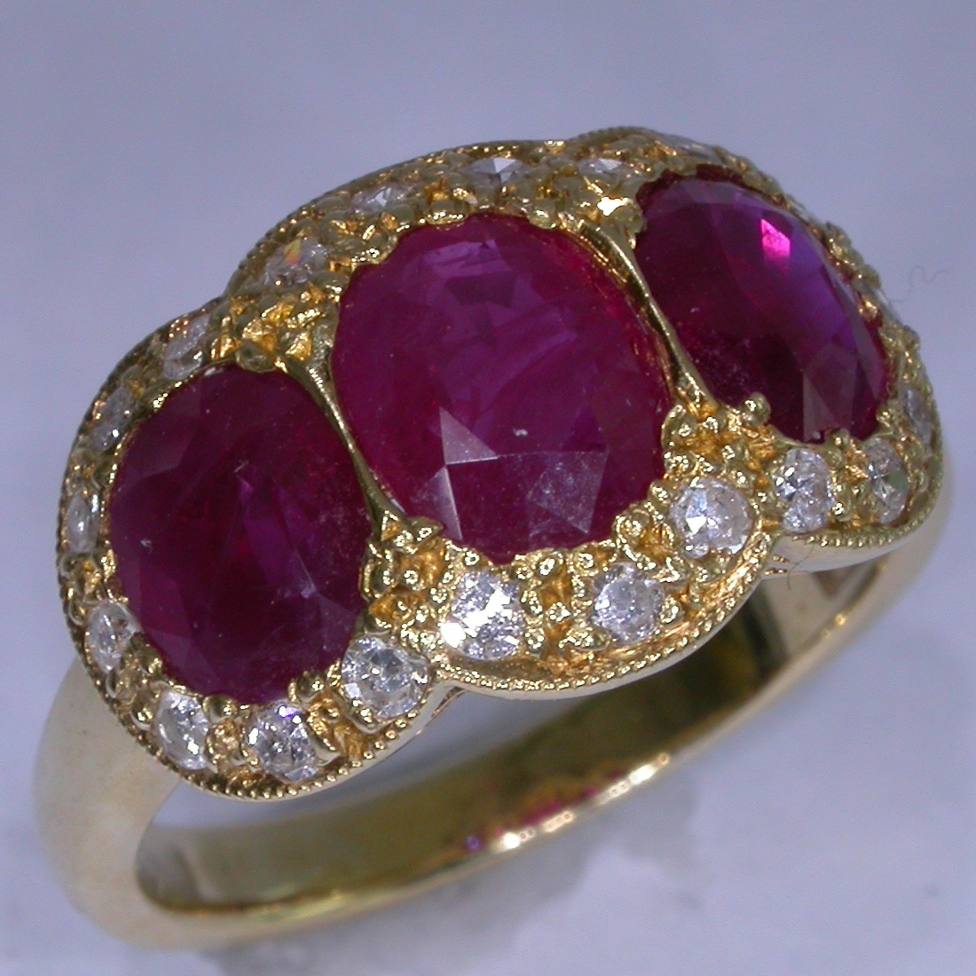 Colour Stone Rings - #1637