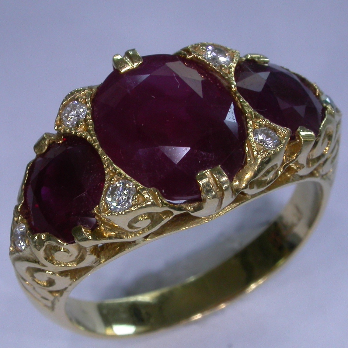 Colour Stone Rings in Melbourne - #4089