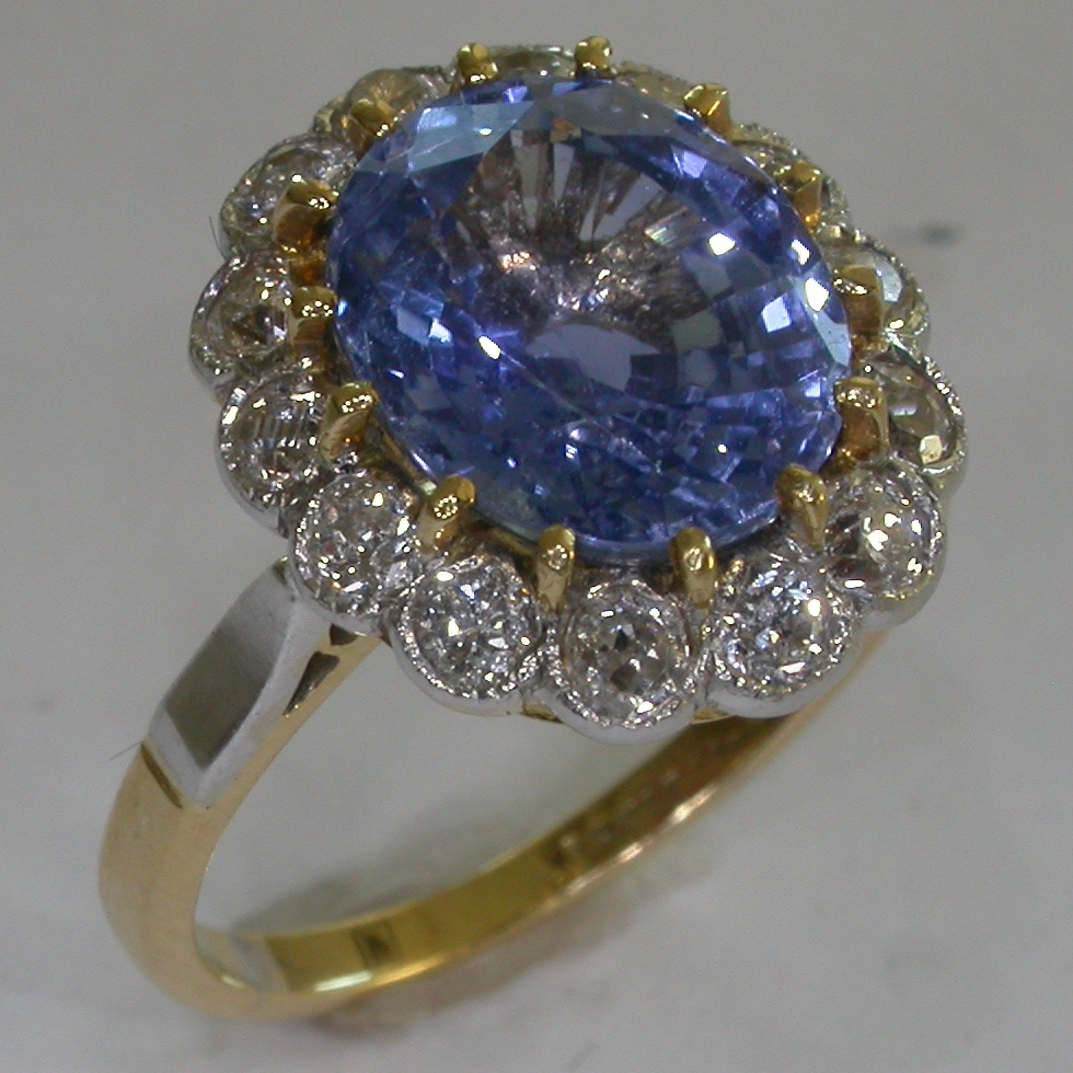 Colour Stone Engagement Rings in Melbourne - #4628