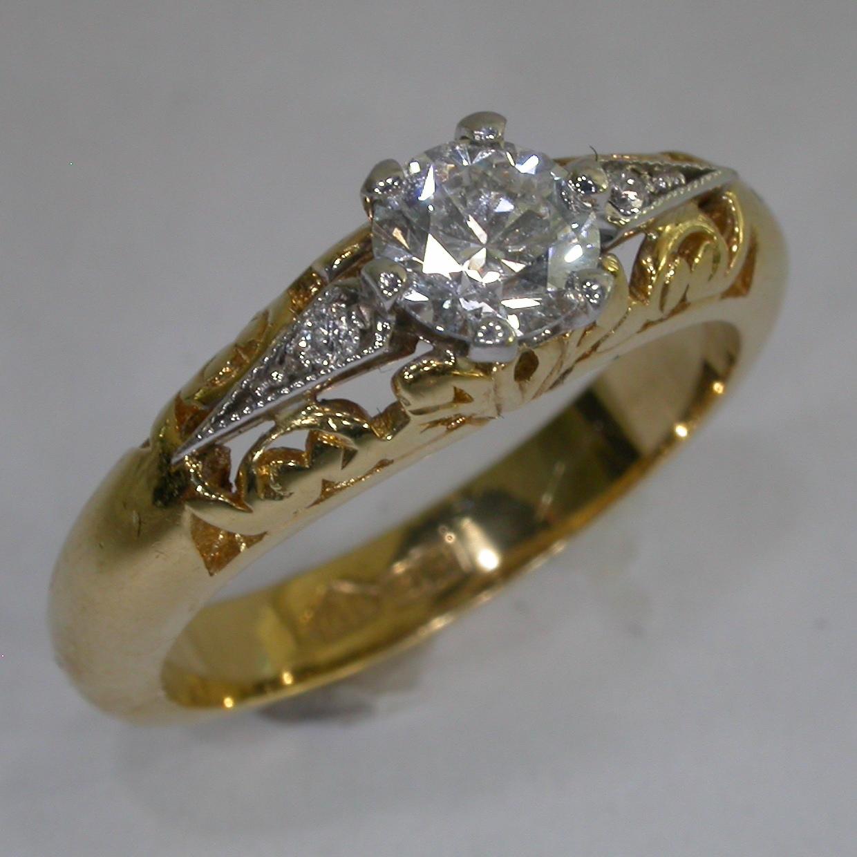 Vintage Engagement Ring in Melbourne - #6039