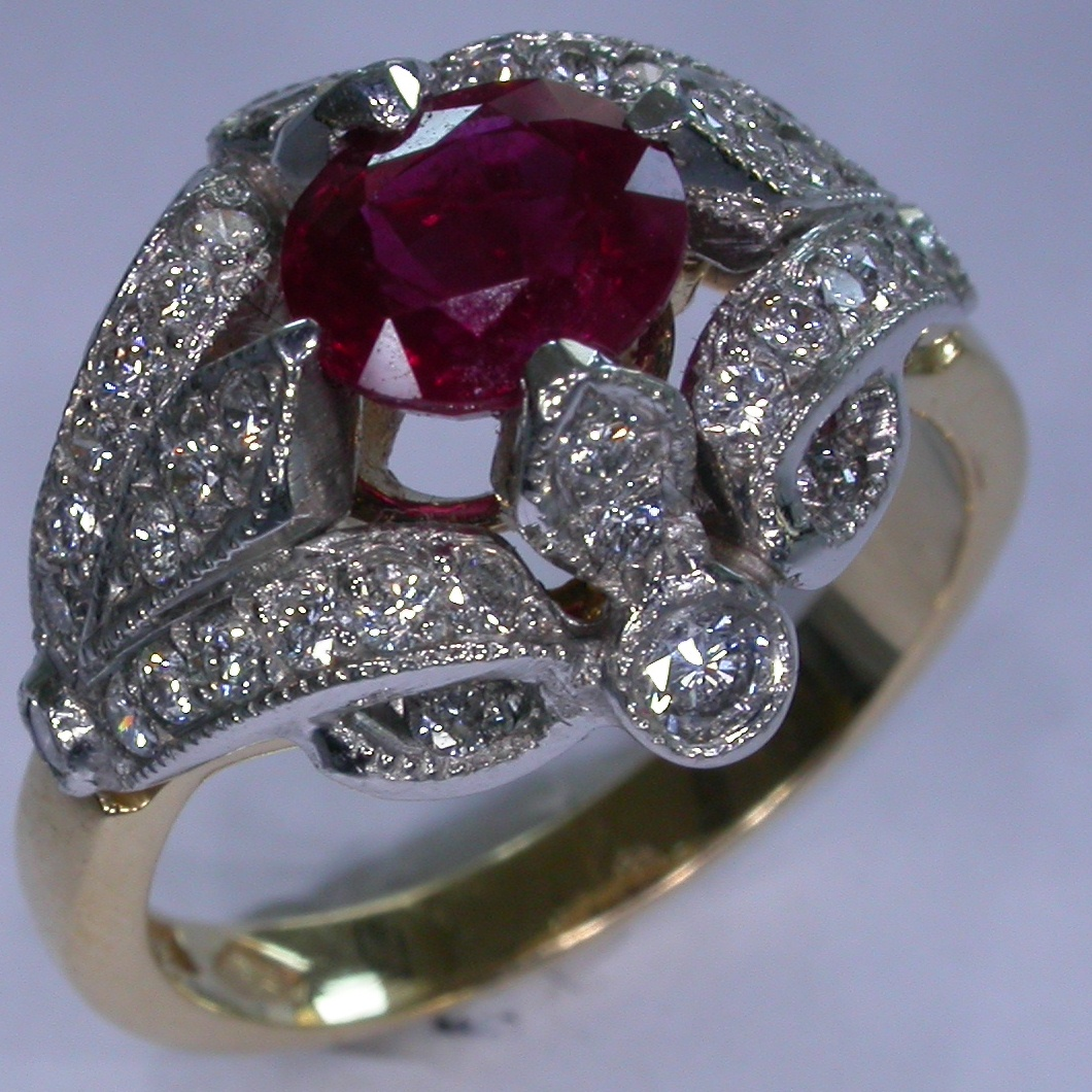 Colour Stone Rings in Melbourne - #6417