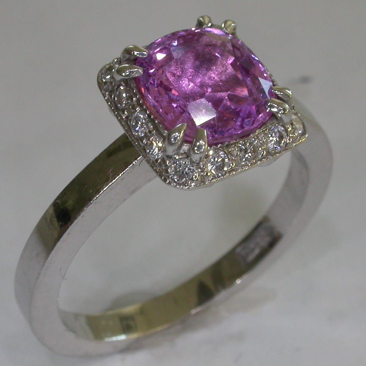 Colour Stone Engagement Rings in Melbourne - #6439