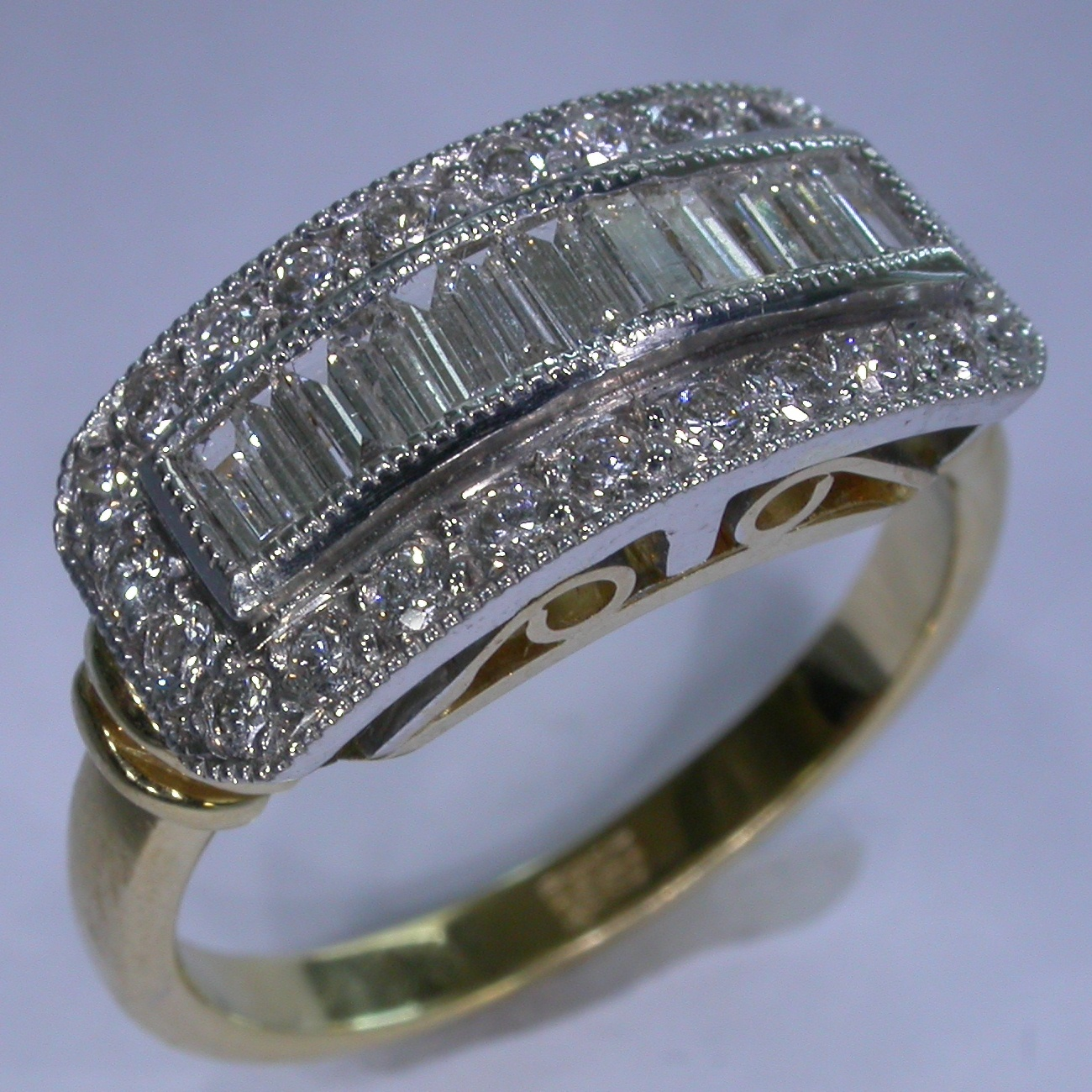 Diamond Engagement Ring in Melbourne - #6800