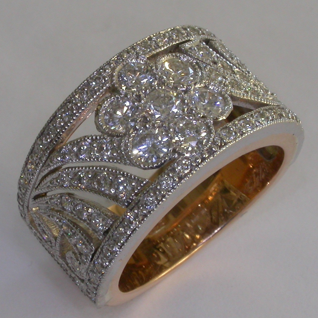 Diamond Engagement Ring in Melbourne - #6848