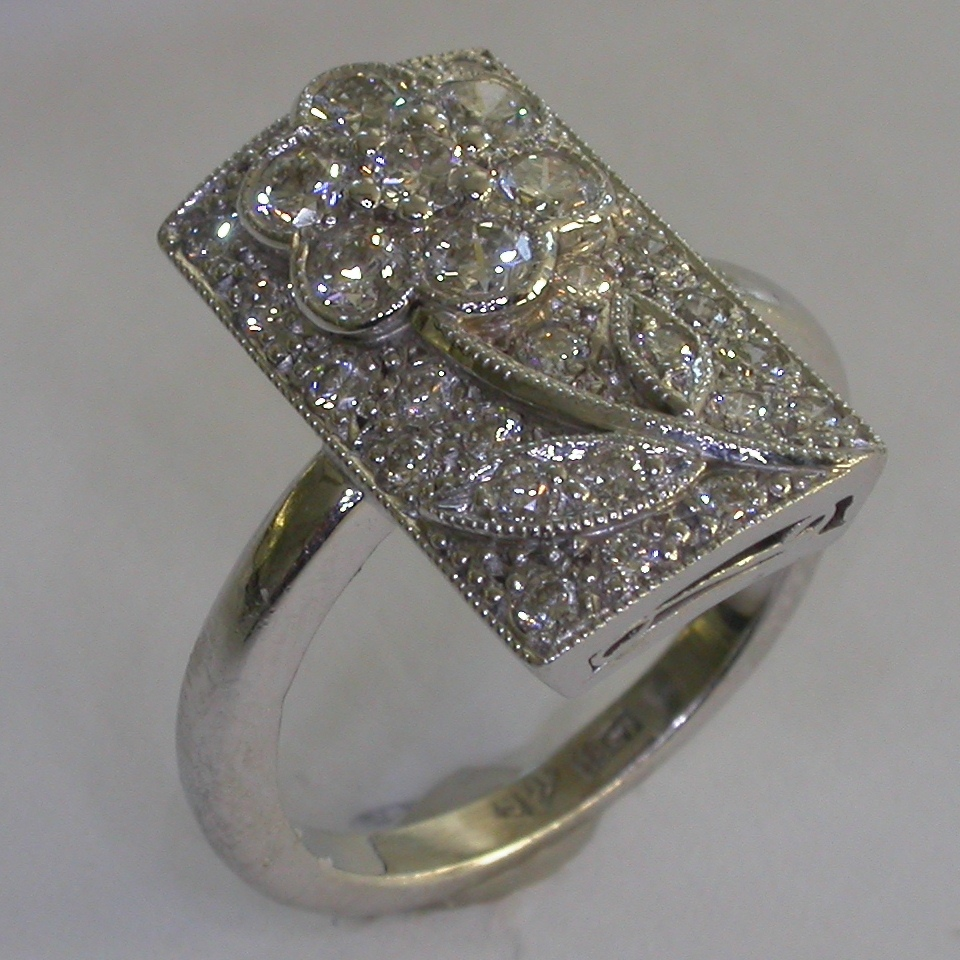 Diamond Engagement Ring in Melbourne - #6984