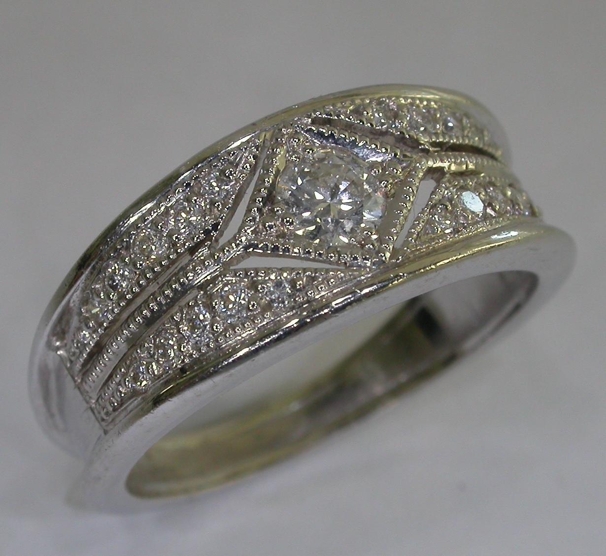 Vintage Engagement Ring - #7069