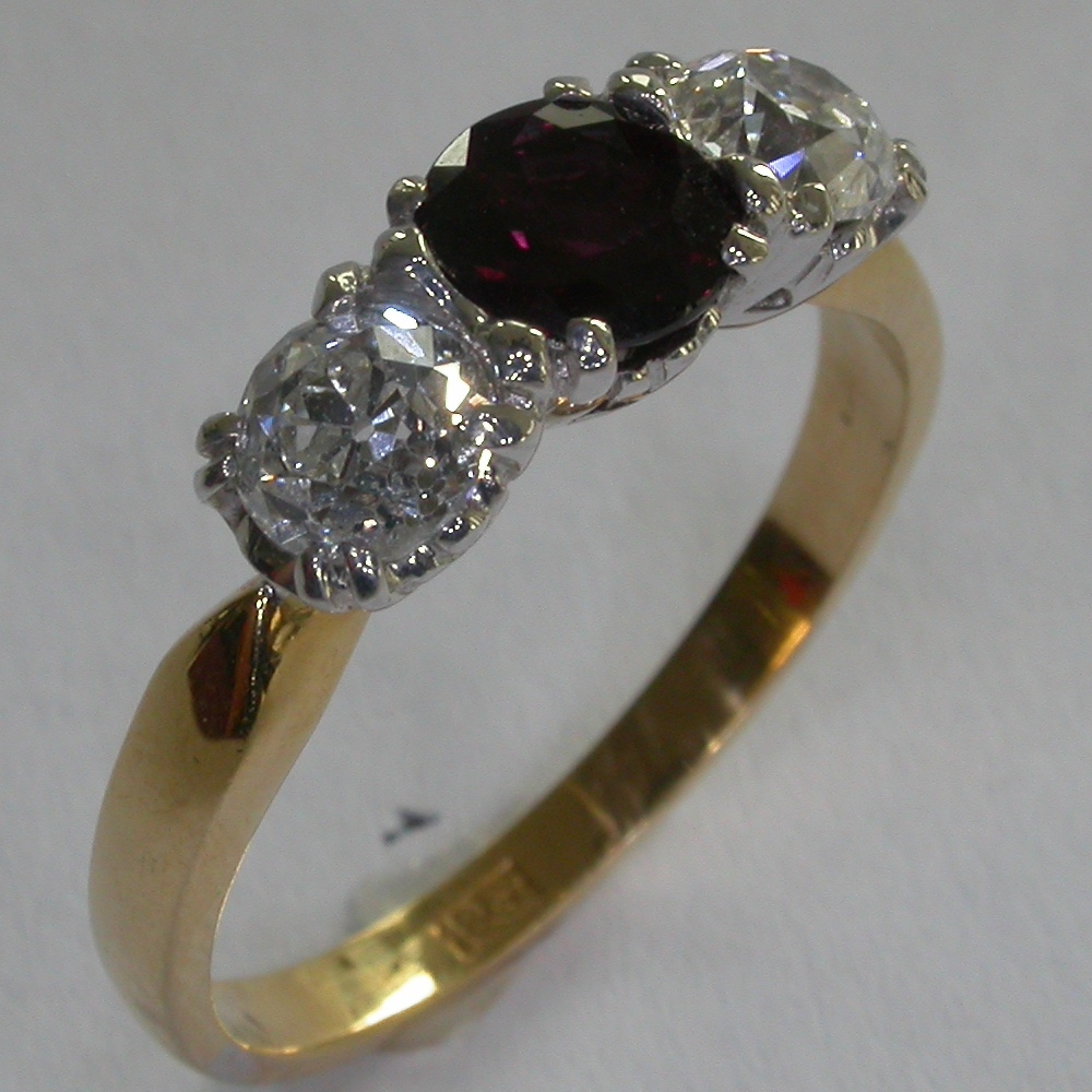 Colour Stone Rings - #7189