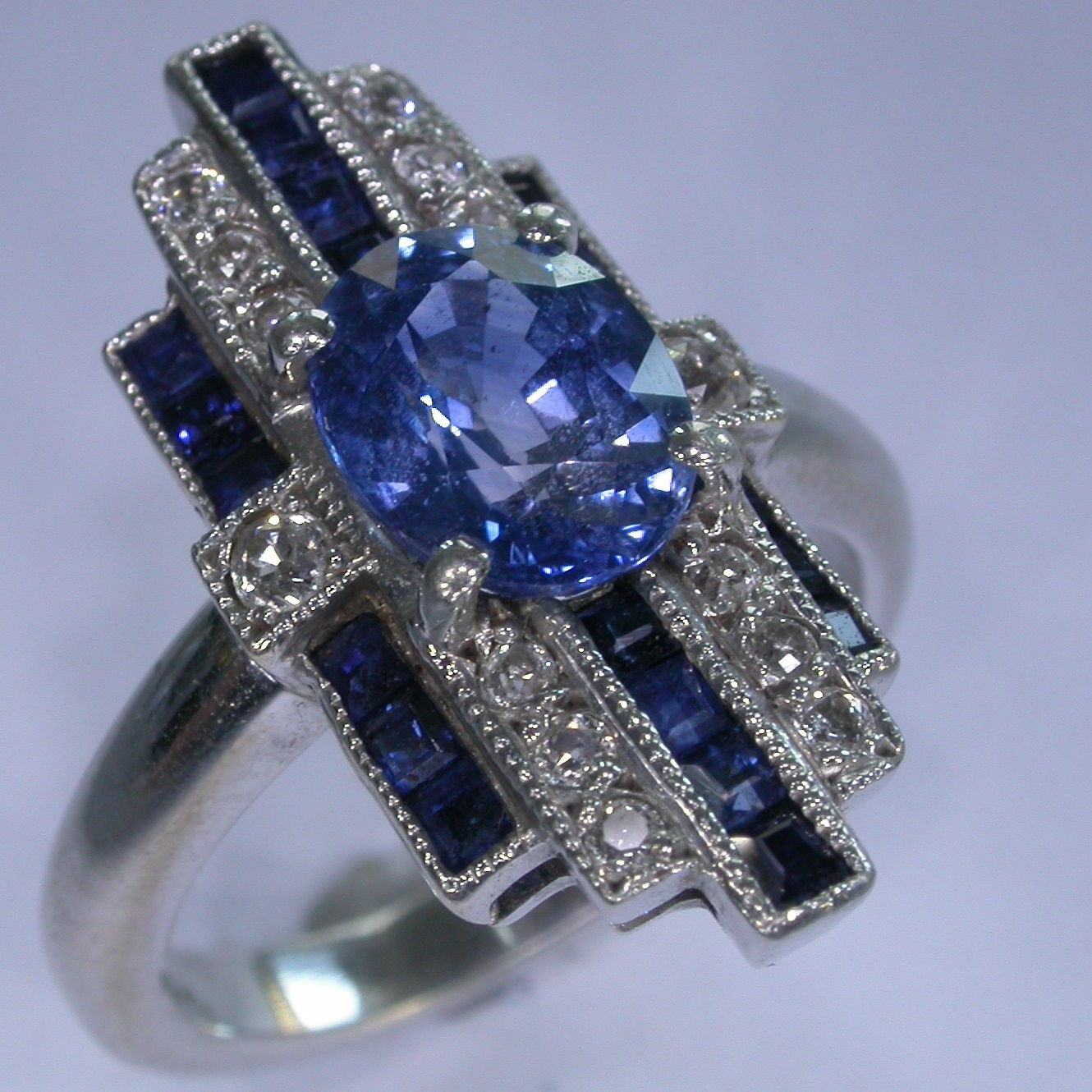 Melbourne Coloured Stone Rings - #7193