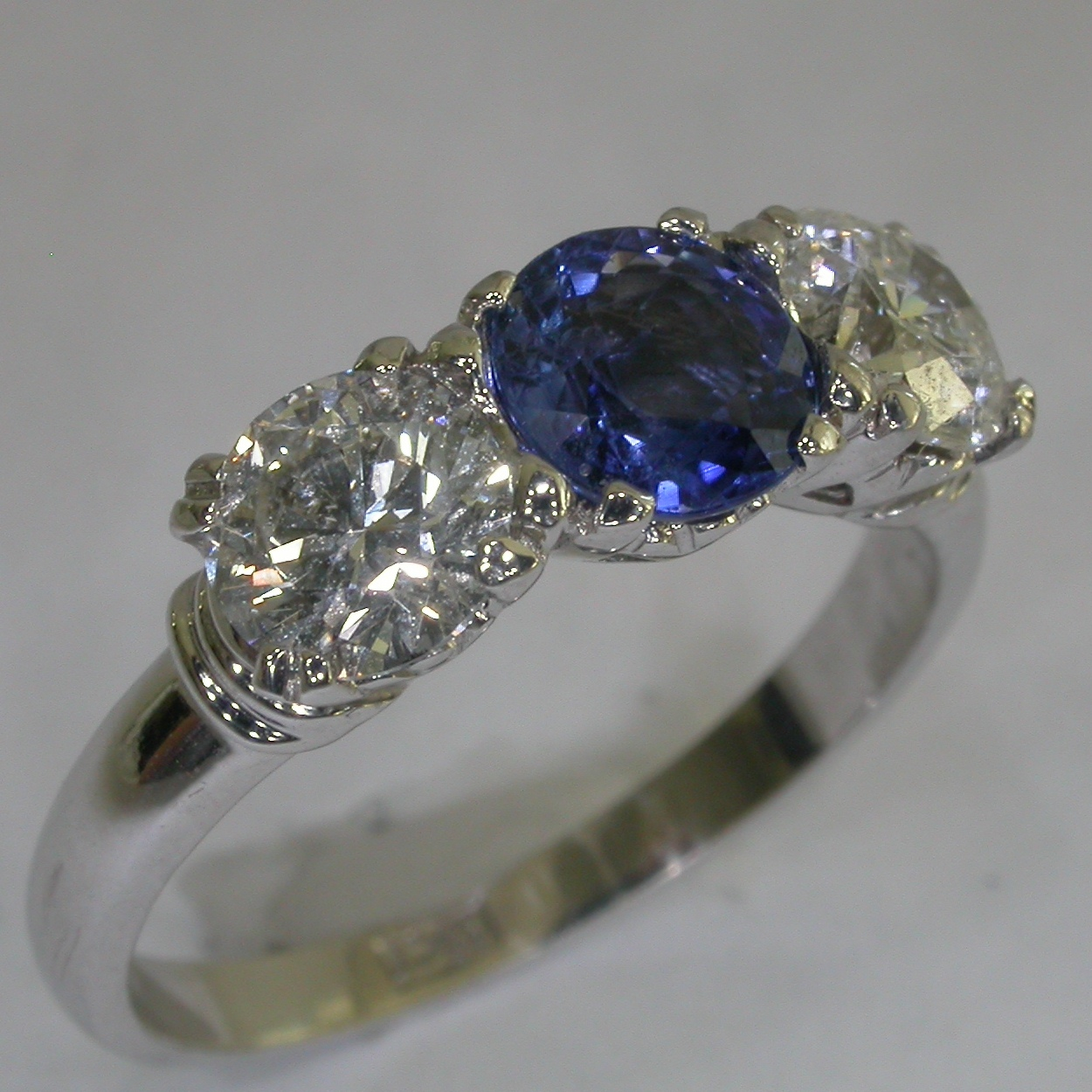 Colour Stone Engagement Rings in Melbourne - #7198