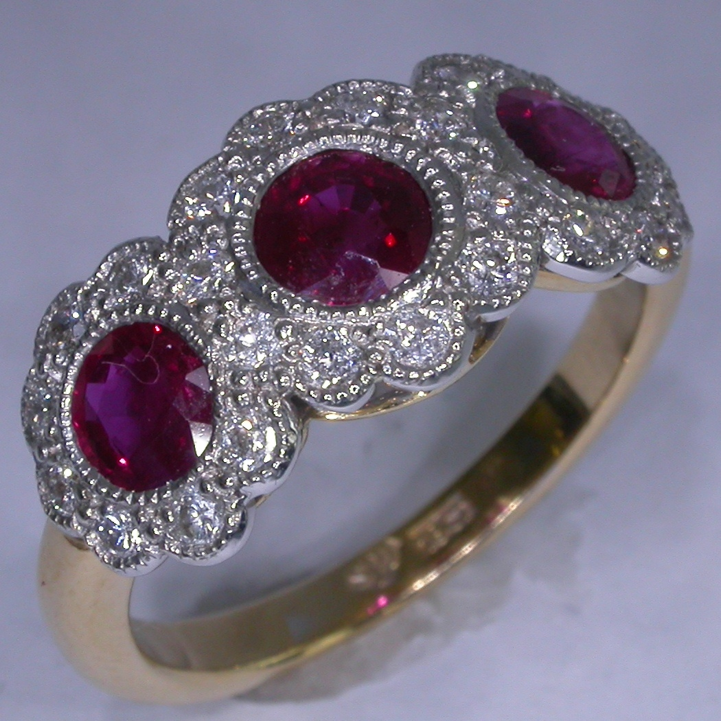 Colour Stone Rings - #7228