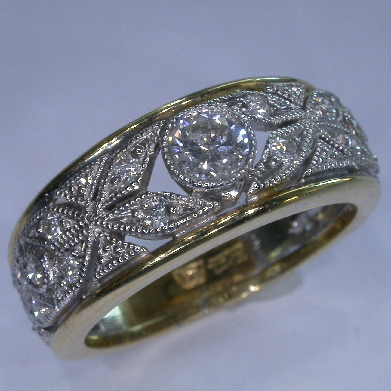 Diamond Engagement Ring in Melbourne - #7238