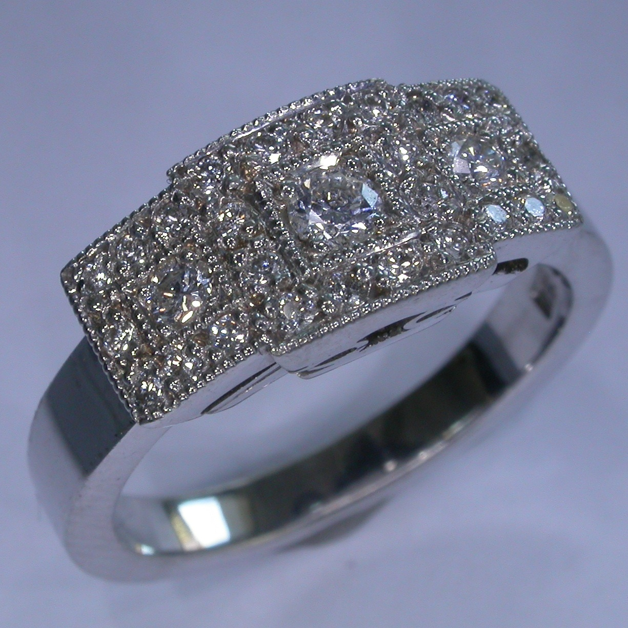 Diamond Engagement Ring in Melbourne - #7274