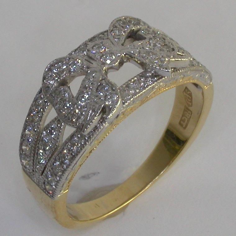 Art Deco Diamond Rings - #7296