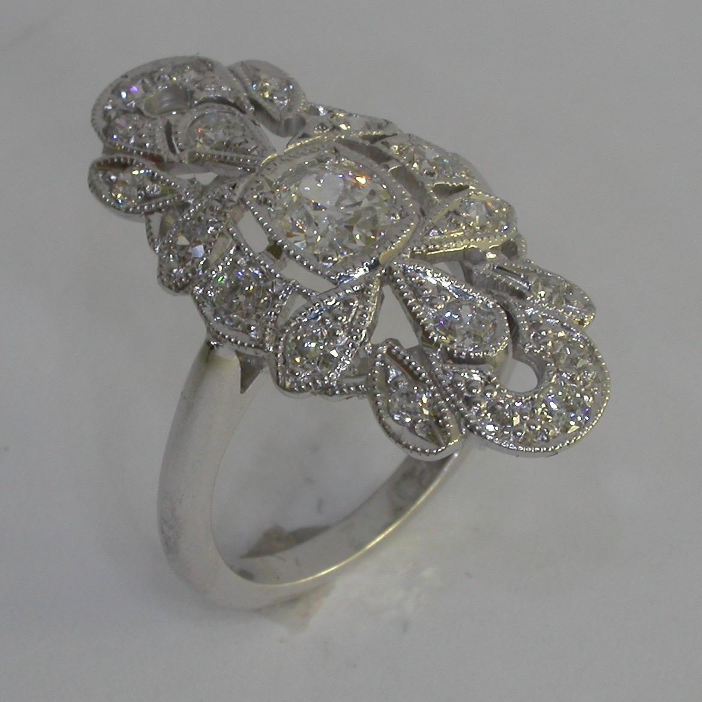 Vintage Engagement Ring - #7308