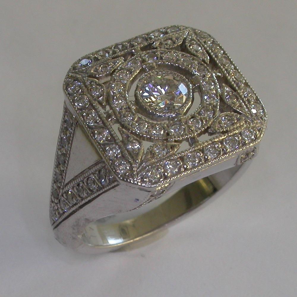 Vintage Engagement Ring - #7332