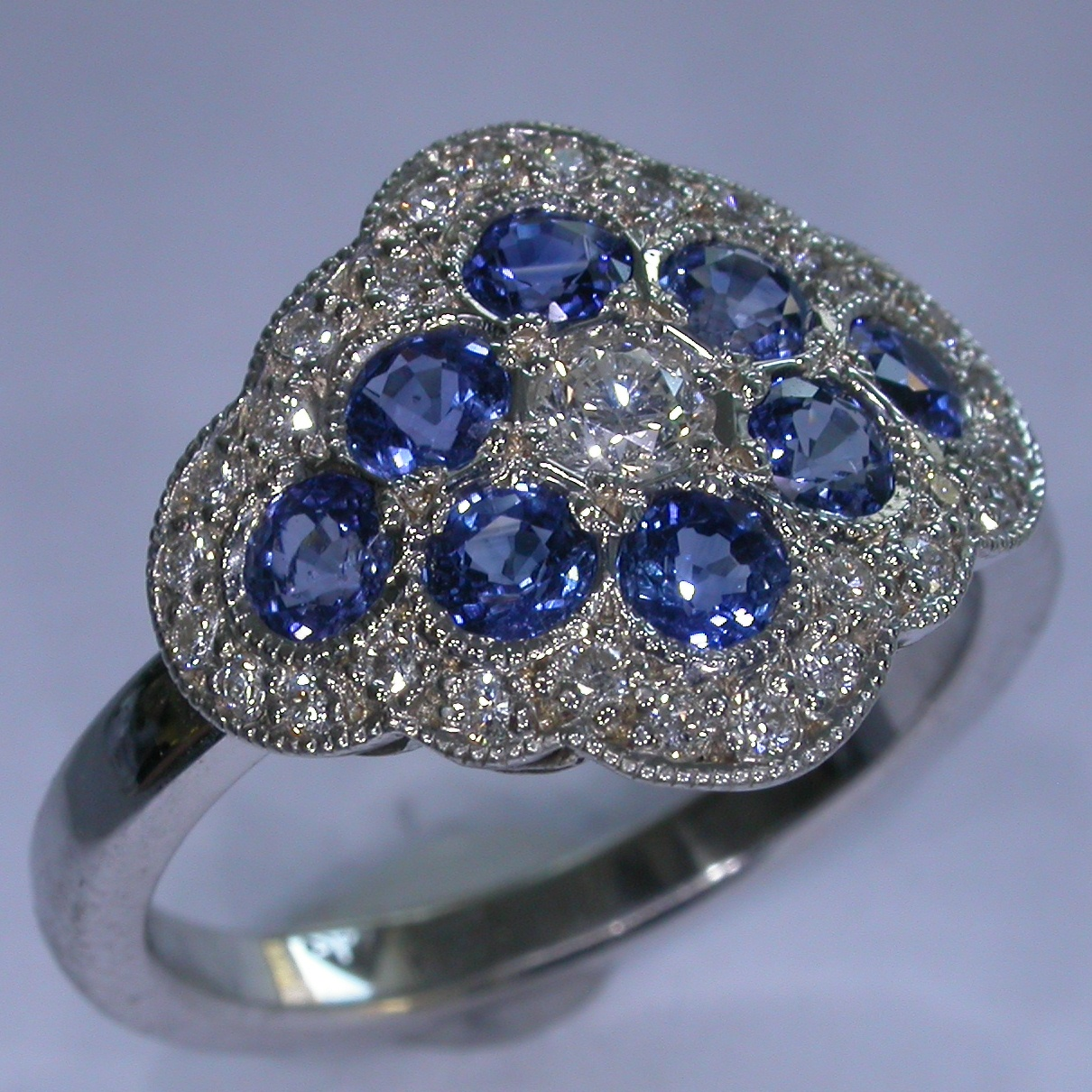 Melbourne Coloured Stone Rings - #7350