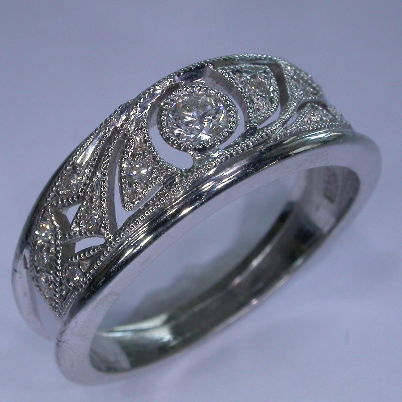 Art Deco Diamond Rings - #7356
