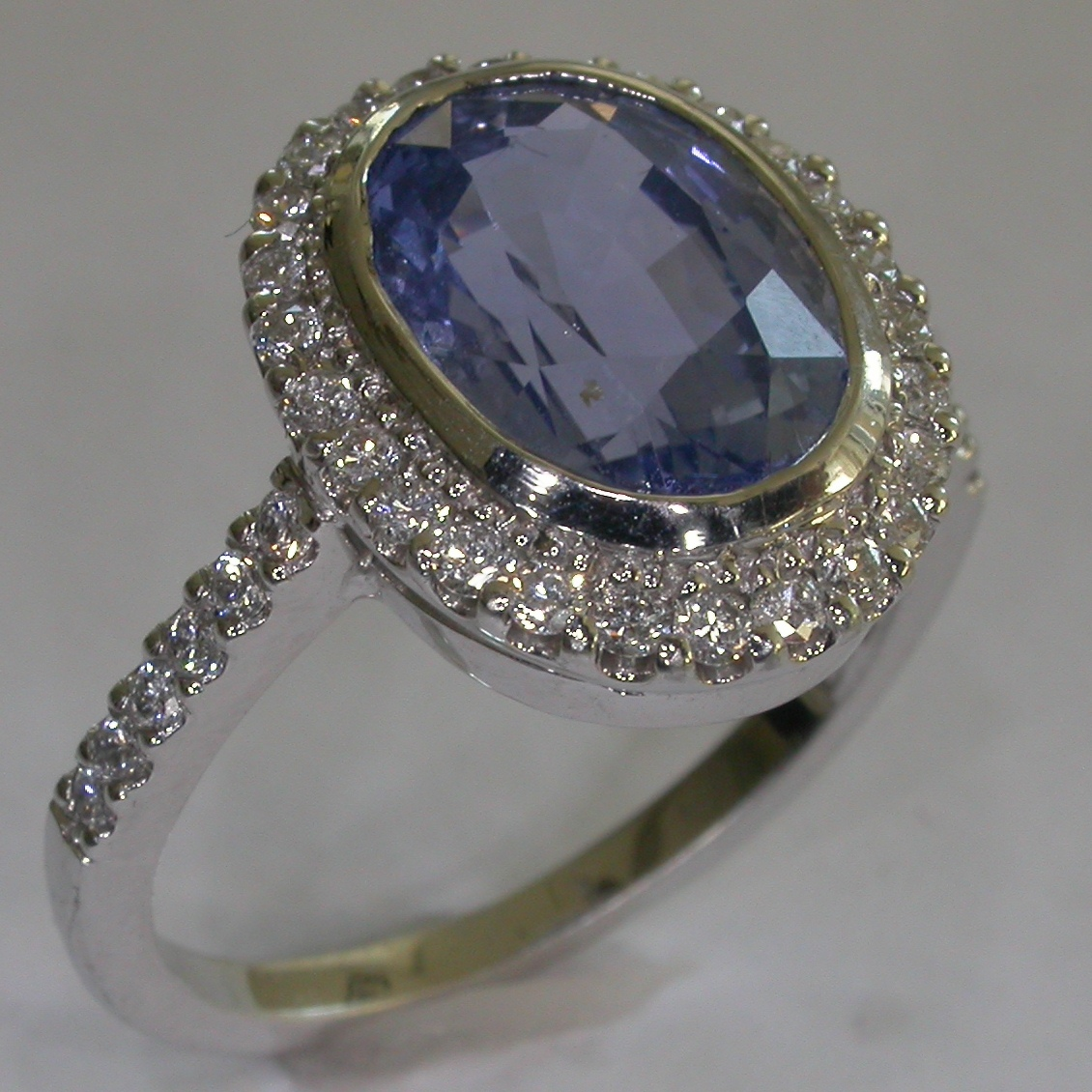 Melbourne Coloured Stone Engagement Rings - #7359