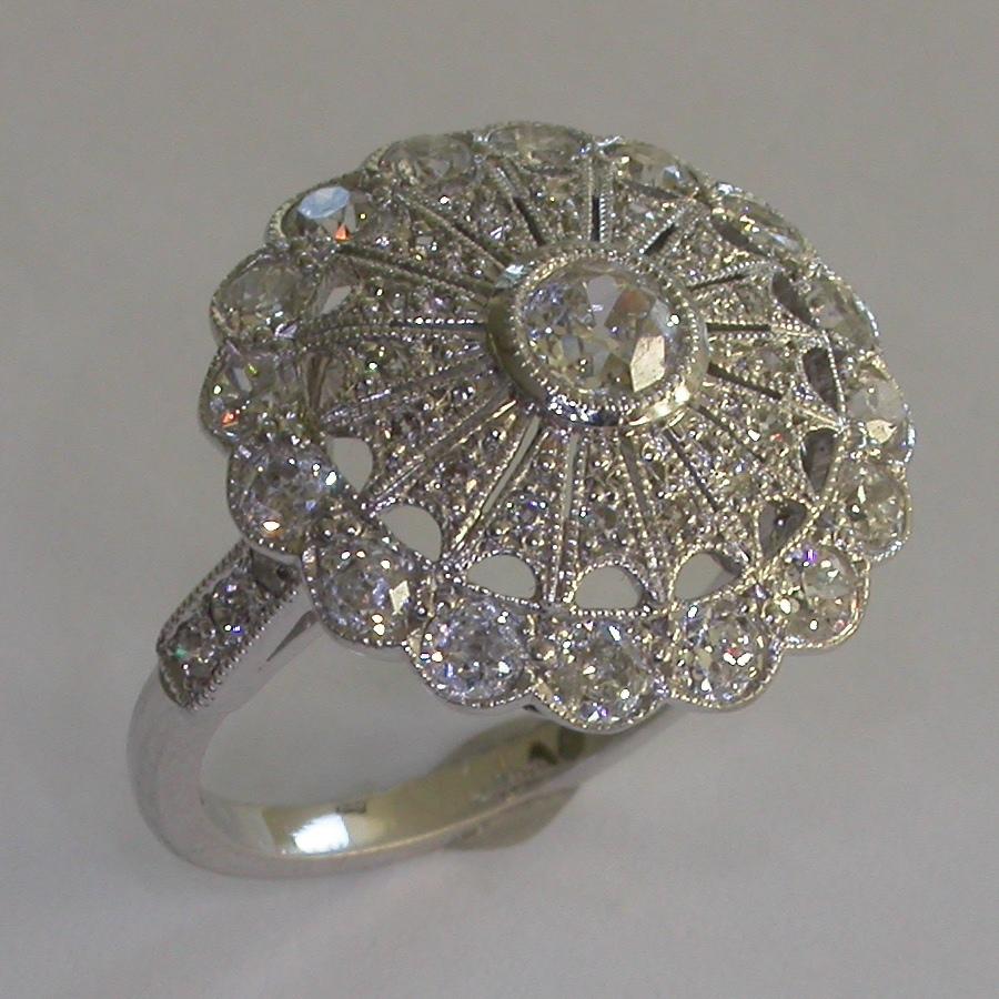 Vintage Engagement Ring - #7360