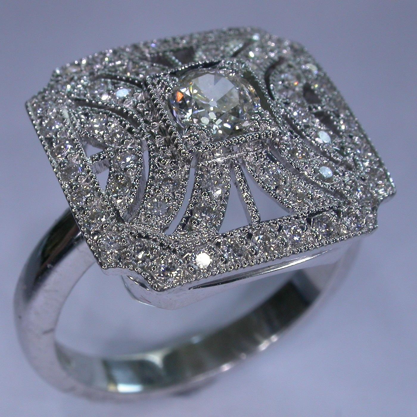 Vintage Engagement Ring in Melbourne - #8131