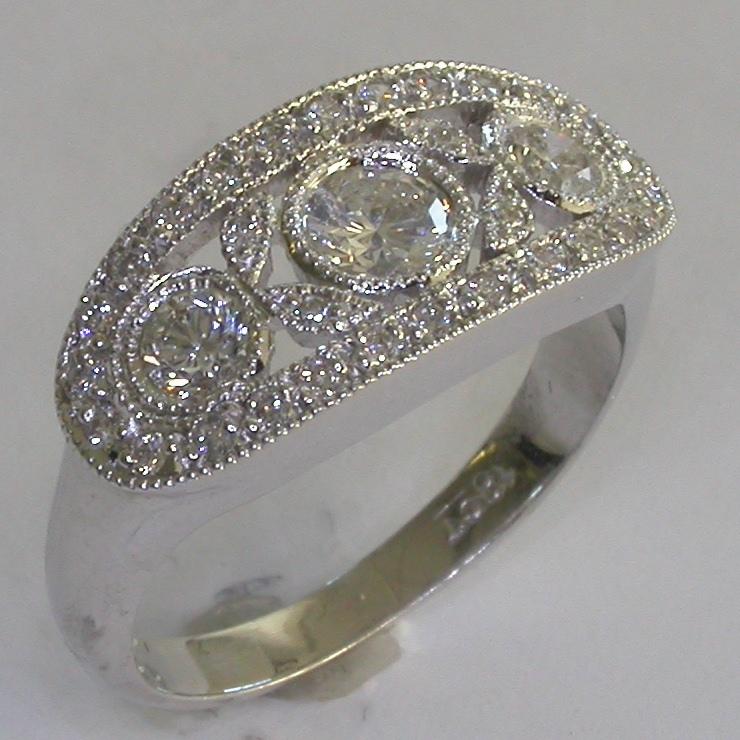 Vintage Engagement Ring in Melbourne - #8015