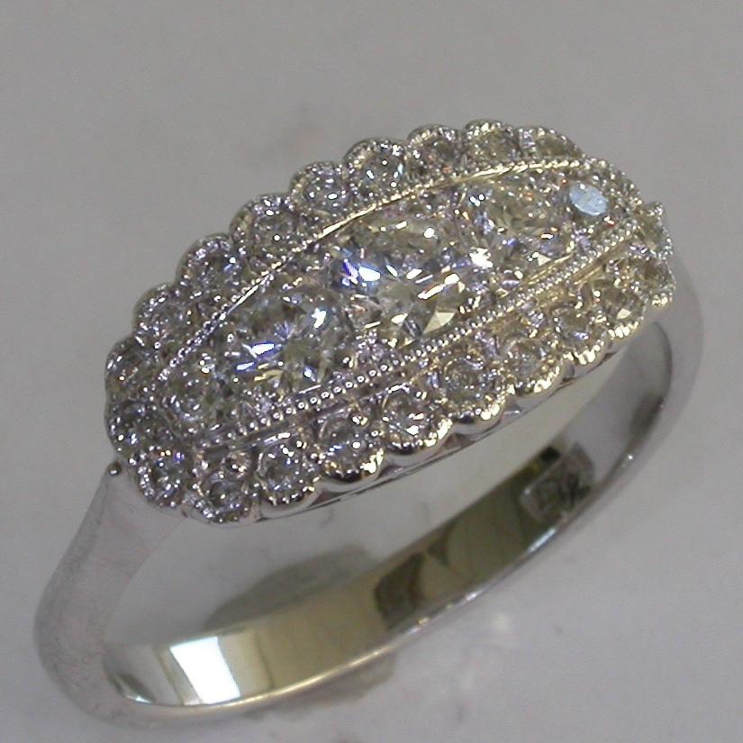 Vintage Engagement Ring in Melbourne - #8017
